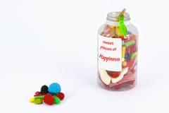 Pedazos dulces de felicidad Imagenes de archivo