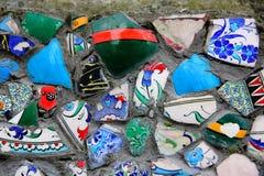 Pedazos multicolores Foto de archivo