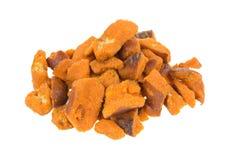 Pedazos picantes del pretzel Imagen de archivo libre de regalías