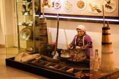 Pedazos turcos antiguos en museo Imagen de archivo libre de regalías