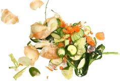 Pedazos vegetales para el estiércol vegetal Imagen de archivo