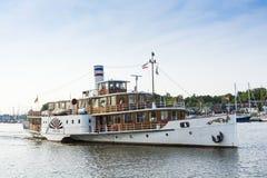 Peddelstoomboot Freya Royalty-vrije Stock Foto