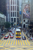 Pedder ulica, Hong Kong wyspa Zdjęcie Royalty Free