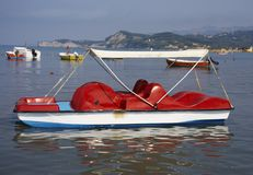 Peddle boat Stock Photography