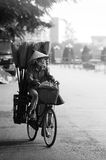 Peddlers. Thai Nguyen City - Viet Nam Royalty Free Stock Photo