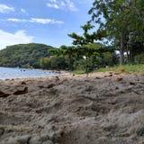Pede海滩 免版税库存照片