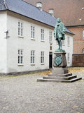 Peder Griffenfeld staty, Köpenhamn Arkivbild