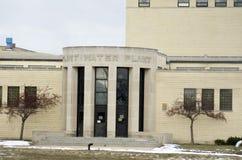 Pedernal, Michigan: Ciudad de Flint Water Plant Imagen de archivo