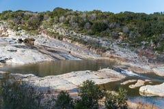 Pedernales cade parco di stato, alpeggio, il Texas Immagini Stock