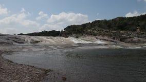 Pedernales Falls in Johnson City Texas. stock video footage