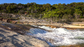 Pedernales Falls State Park and River in Texas Stock Image