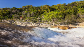 Pedernales Falls State Park and River in Texas Hill Country Stock Image
