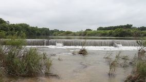 Pedernales River in Stonewall Texas. stock video footage