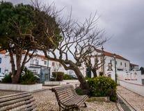 Pederneira, Nazaré, Portugal - 4 mars 2019 images libres de droits