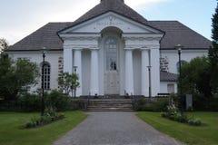Pedersöre教会 免版税库存图片