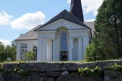 Pedersöre教会 免版税库存照片