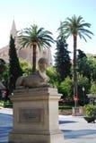Pedesrtian Straße in Palma de Mallorca Stockbild