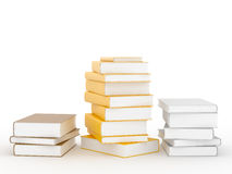 Pedesta of books Stock Images