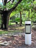 Pedestal de la transmisión en circuito de rv Fotografía de archivo libre de regalías