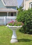 Pedestal Garden Planter stock photos