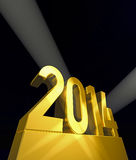 New year New Year's day 2014 Royalty Free Stock Photo