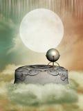 Pedestal in the sky Stock Image