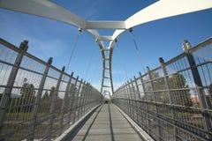 Pedestrain bridge Stock Image