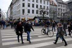 Pedestrain street scene Stock Photography