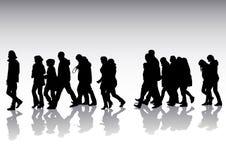 Pedestres Imagens de Stock