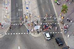 Pedestres Imagem de Stock Royalty Free