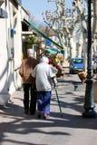 Pedestres do passeio Imagens de Stock Royalty Free