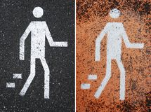Pedestrian Royalty Free Stock Photo
