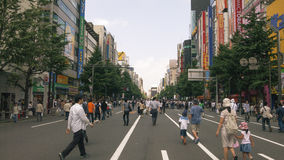 Pedestrian Akihabara, Tokyo Stock Images
