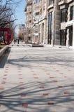 Pedestrian alley Stock Photography