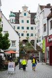 Pedestrian area of Kempten Royalty Free Stock Image
