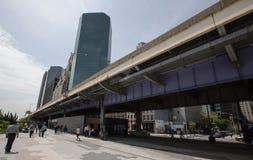 Pedestrian area of Manhattan Royalty Free Stock Photography
