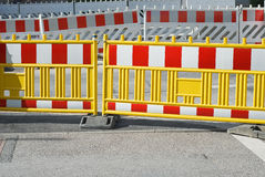 Pedestrian Barrier Royalty Free Stock Photography