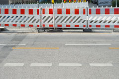 Pedestrian Barrier2 Royalty Free Stock Photos