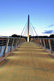 Pedestrian Bridge Stock Image