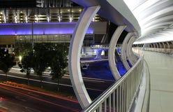 Pedestrian Bridge Royalty Free Stock Images