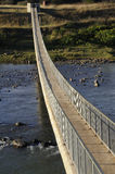 Pedestrian bridge. A pedestrian bridge over flood prone river in KZN South Africa Royalty Free Stock Images
