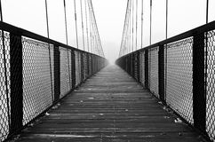 Pedestrian bridge Stock Photography