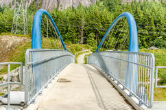 Pedestrian Bridge Royalty Free Stock Image