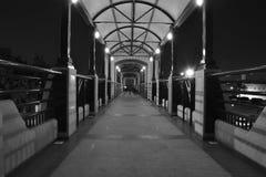 Pedestrian bridge Royalty Free Stock Photos
