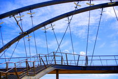Pedestrian Bridge at Frankston Royalty Free Stock Photography
