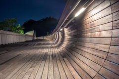 Pedestrian bridge of the Henderson Waves on Mount Faber Stock Photography