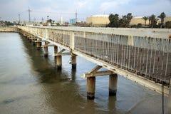HaYarkon River Bridge Royalty Free Stock Images
