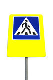 A pedestrian crossing Royalty Free Stock Photos