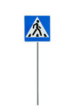 Pedestrian crossing Royalty Free Stock Photos