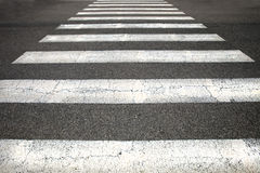 Pedestrian crossing Royalty Free Stock Photo